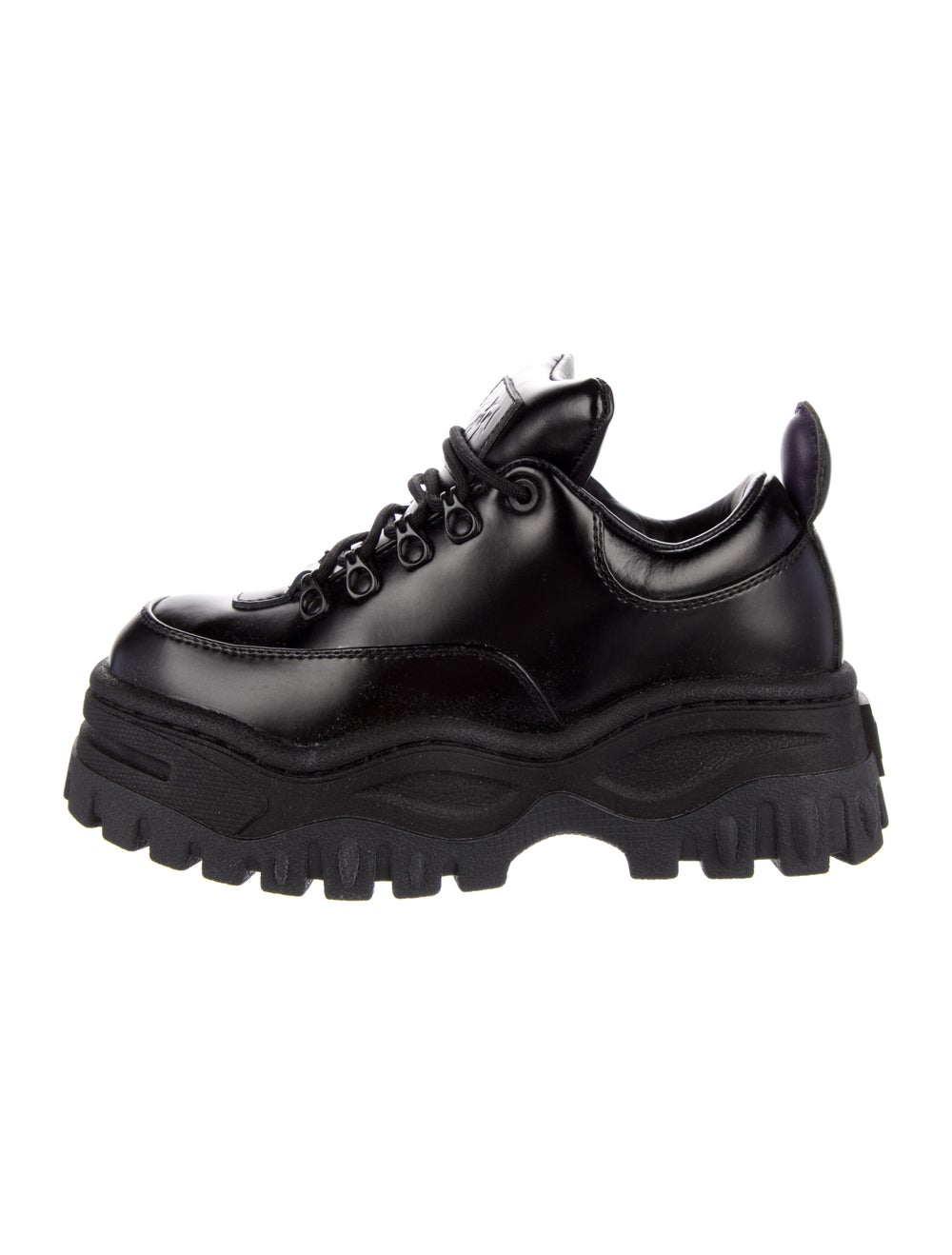 Eytys Leather Chunky Sneakers Black - image 1