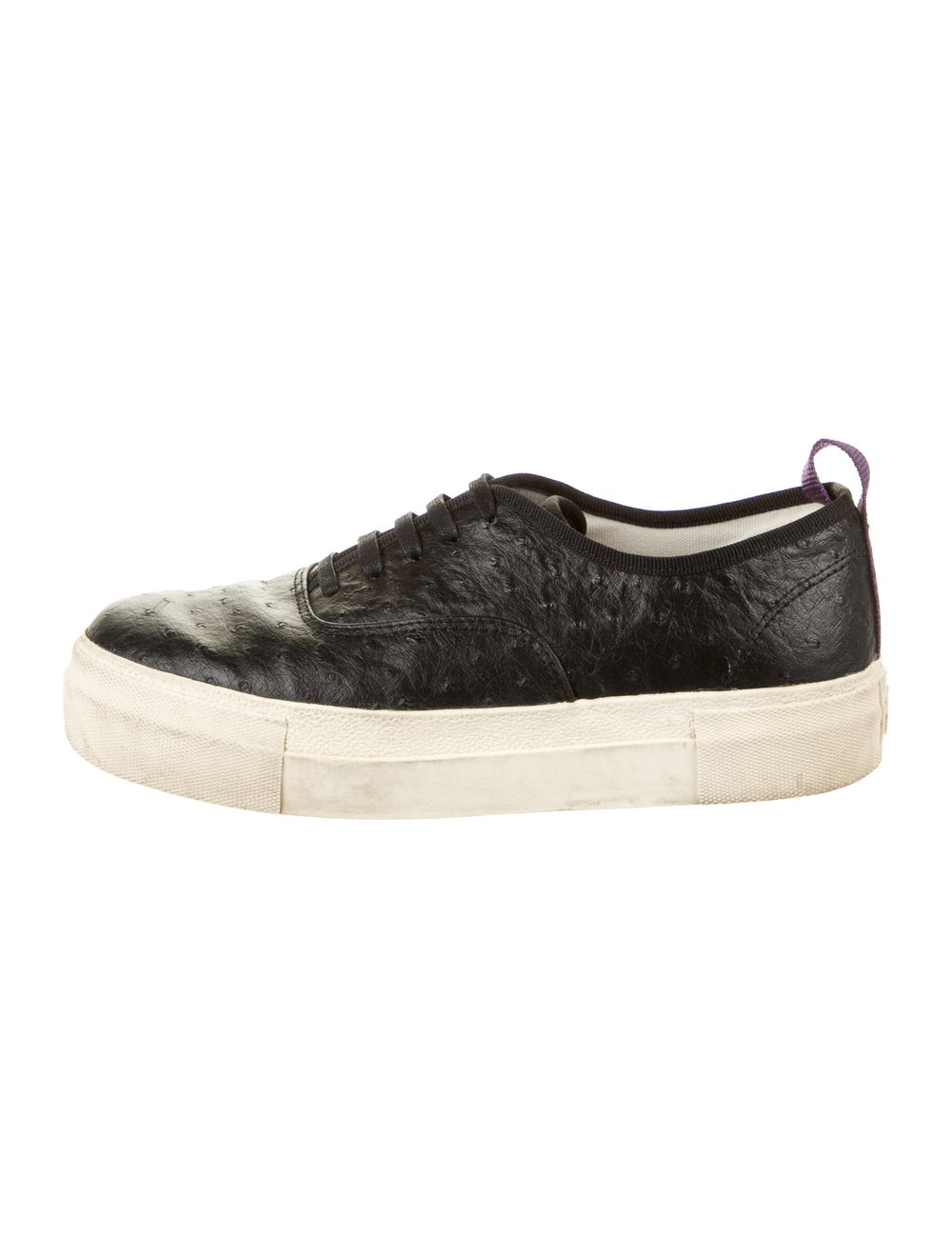 Eytys Ostrich Sneakers Black - image 1