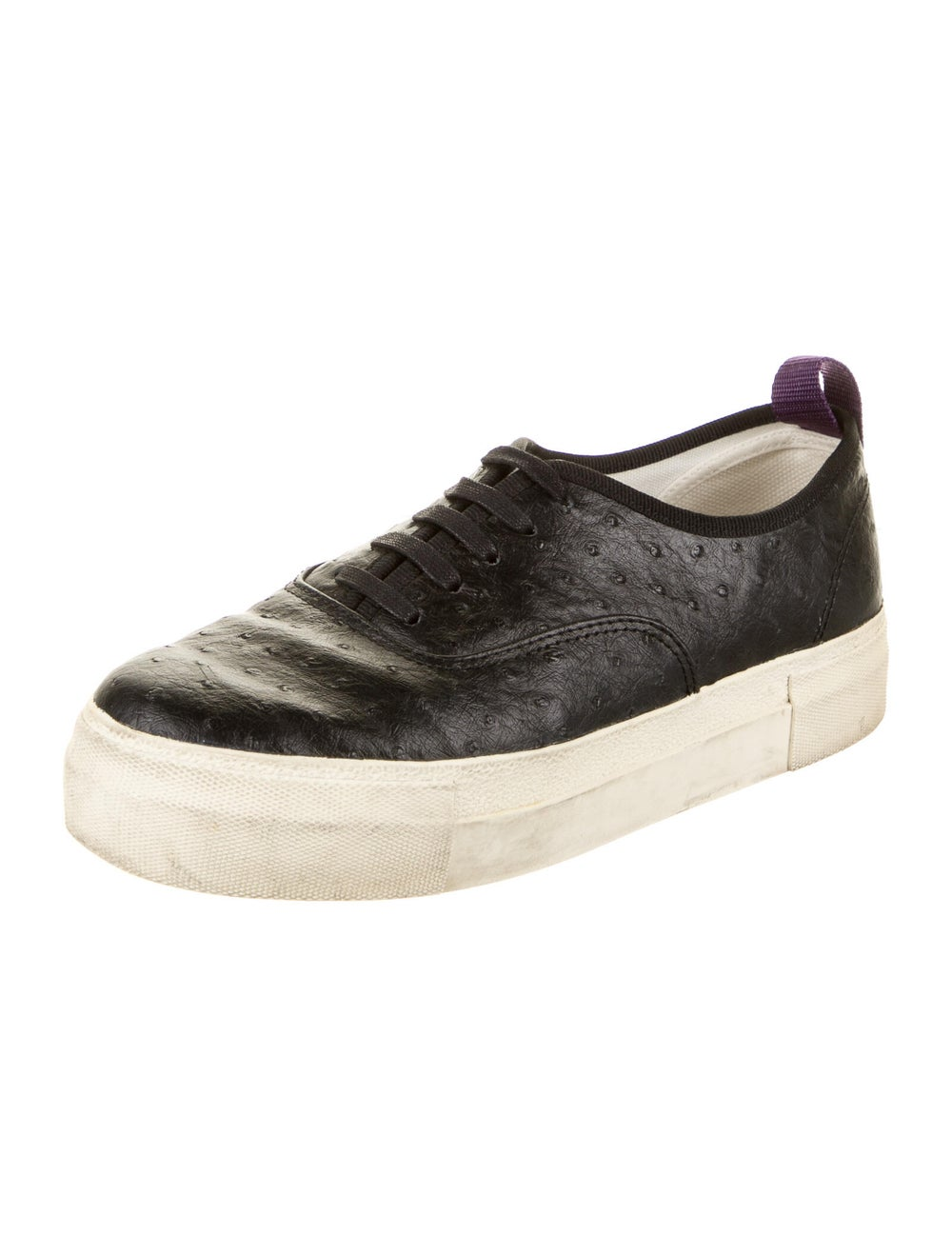 Eytys Ostrich Sneakers Black - image 2