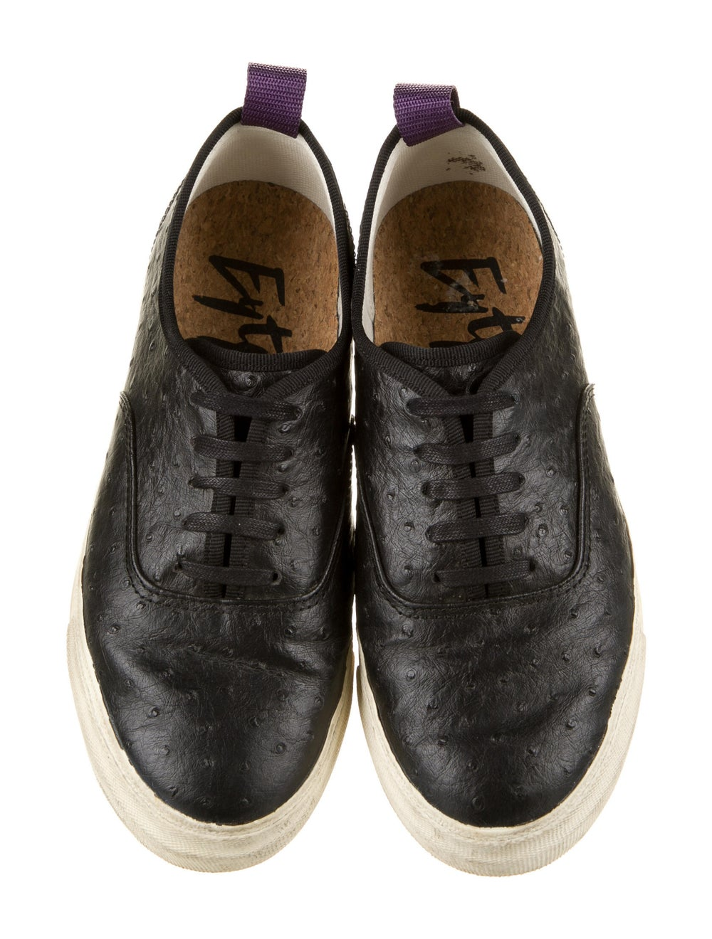 Eytys Ostrich Sneakers Black - image 3