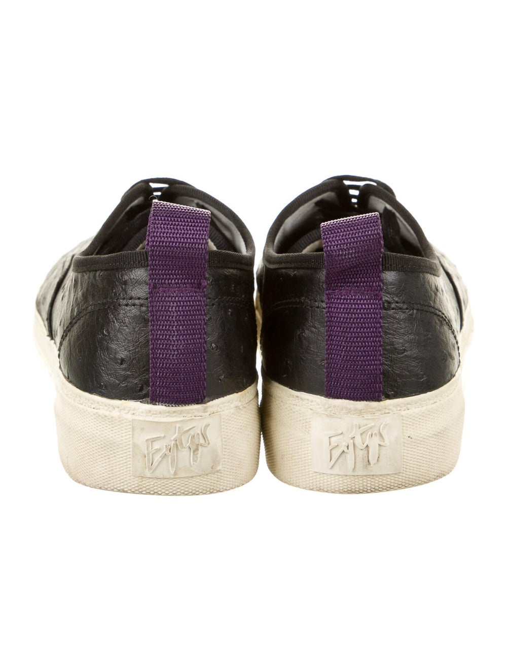 Eytys Ostrich Sneakers Black - image 4