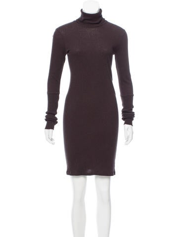 Enza Costa Mini Sweater Dress None