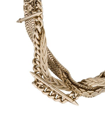 Spiked Chain Collar