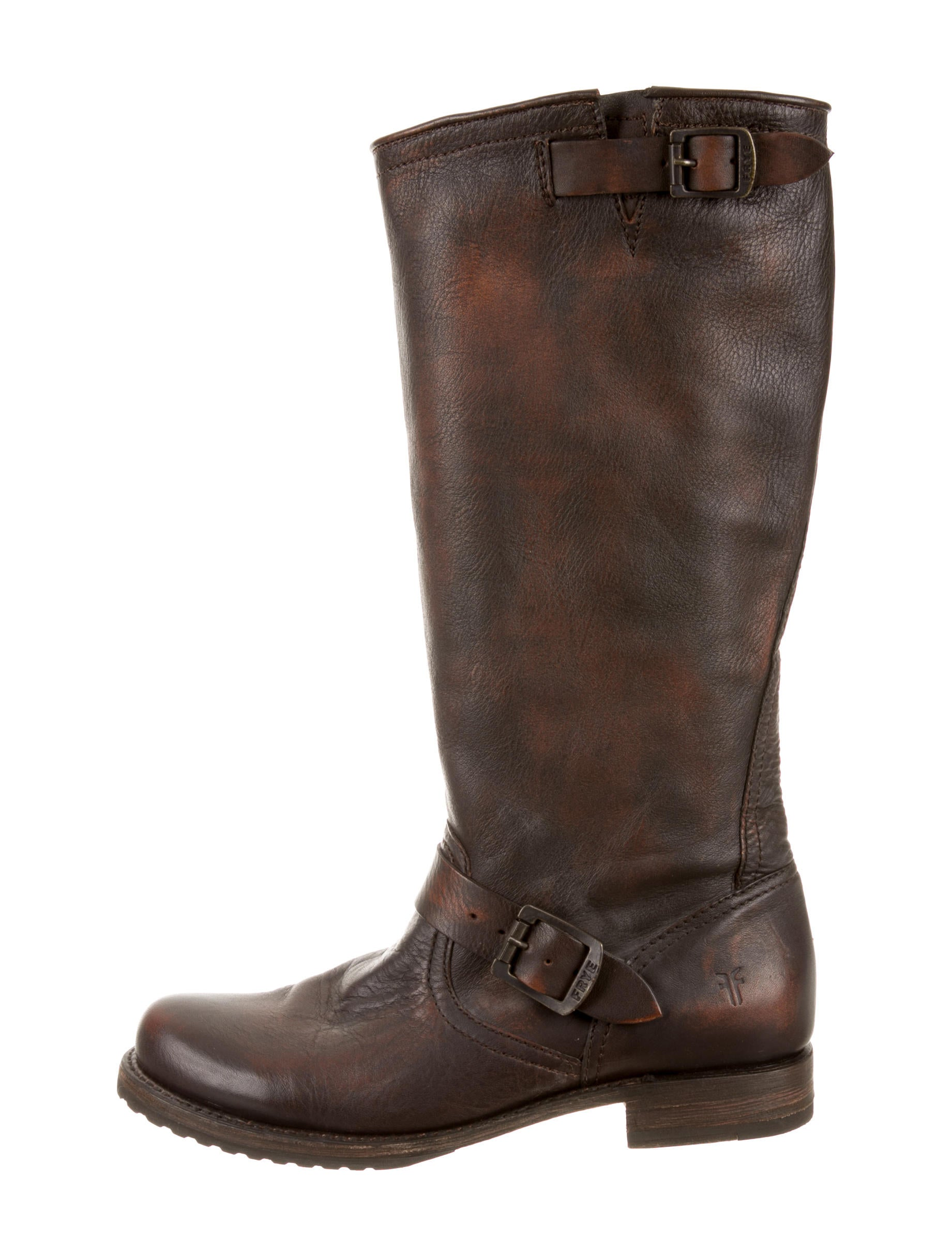 frye knee high boots shoes wf820338 the realreal