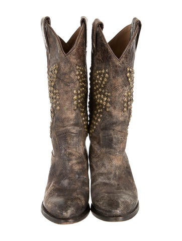 Studded Cowboy Boots