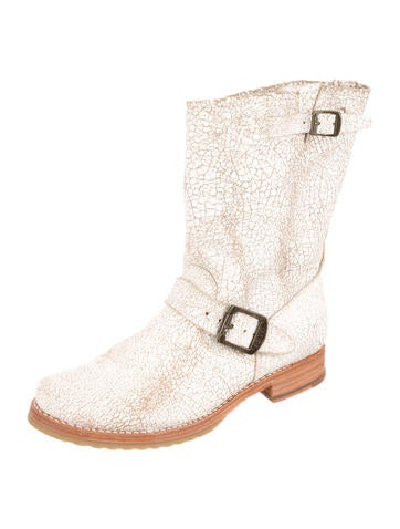 Distressed Ankle Boots