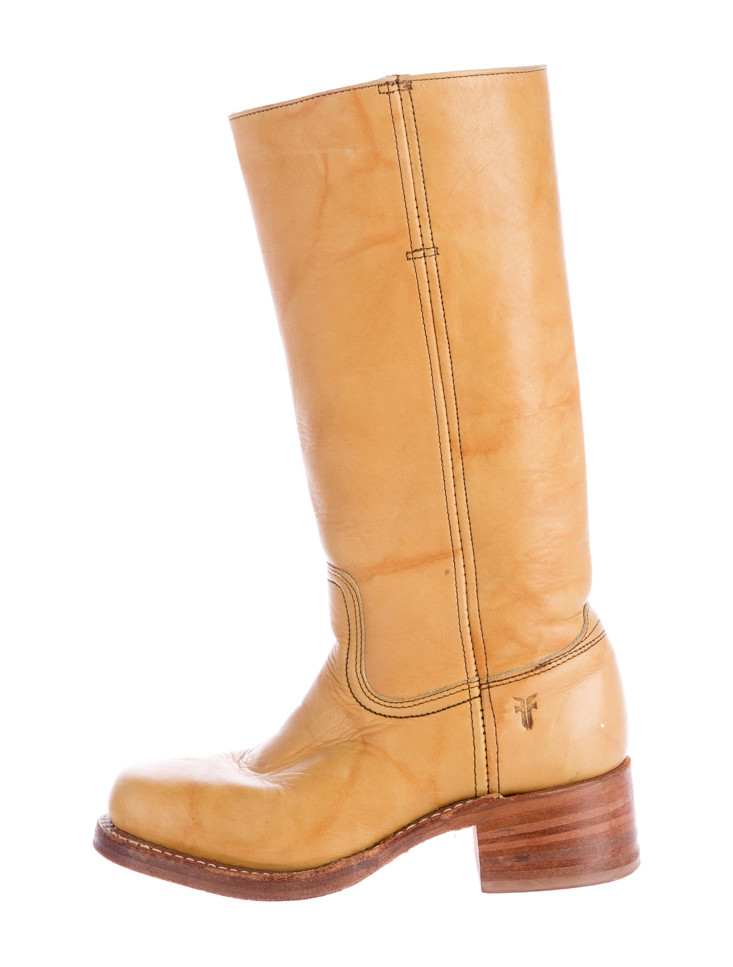 frye square toe leather boots shoes wf820823 the