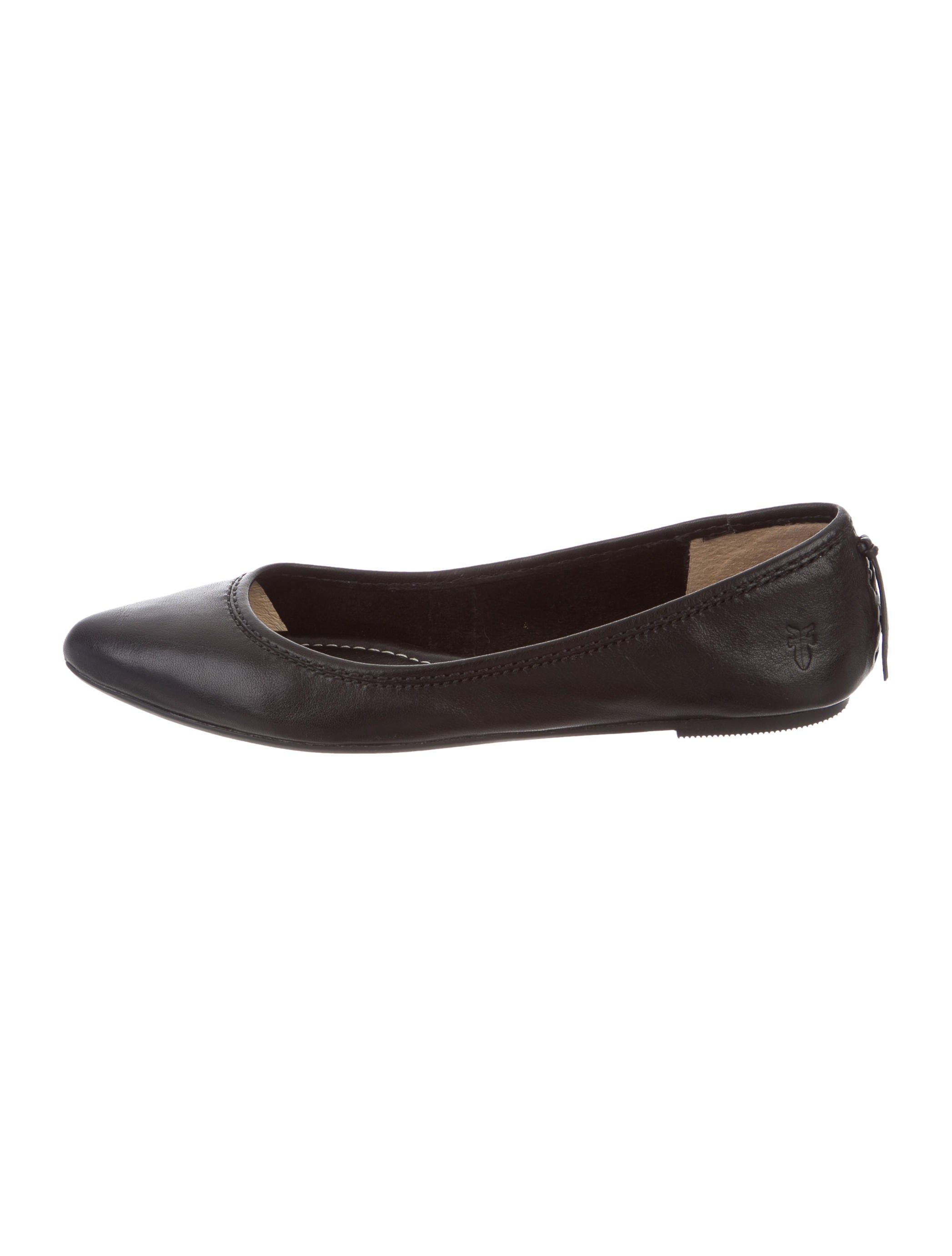 frye leather pointed toe flats shoes wf821013 the
