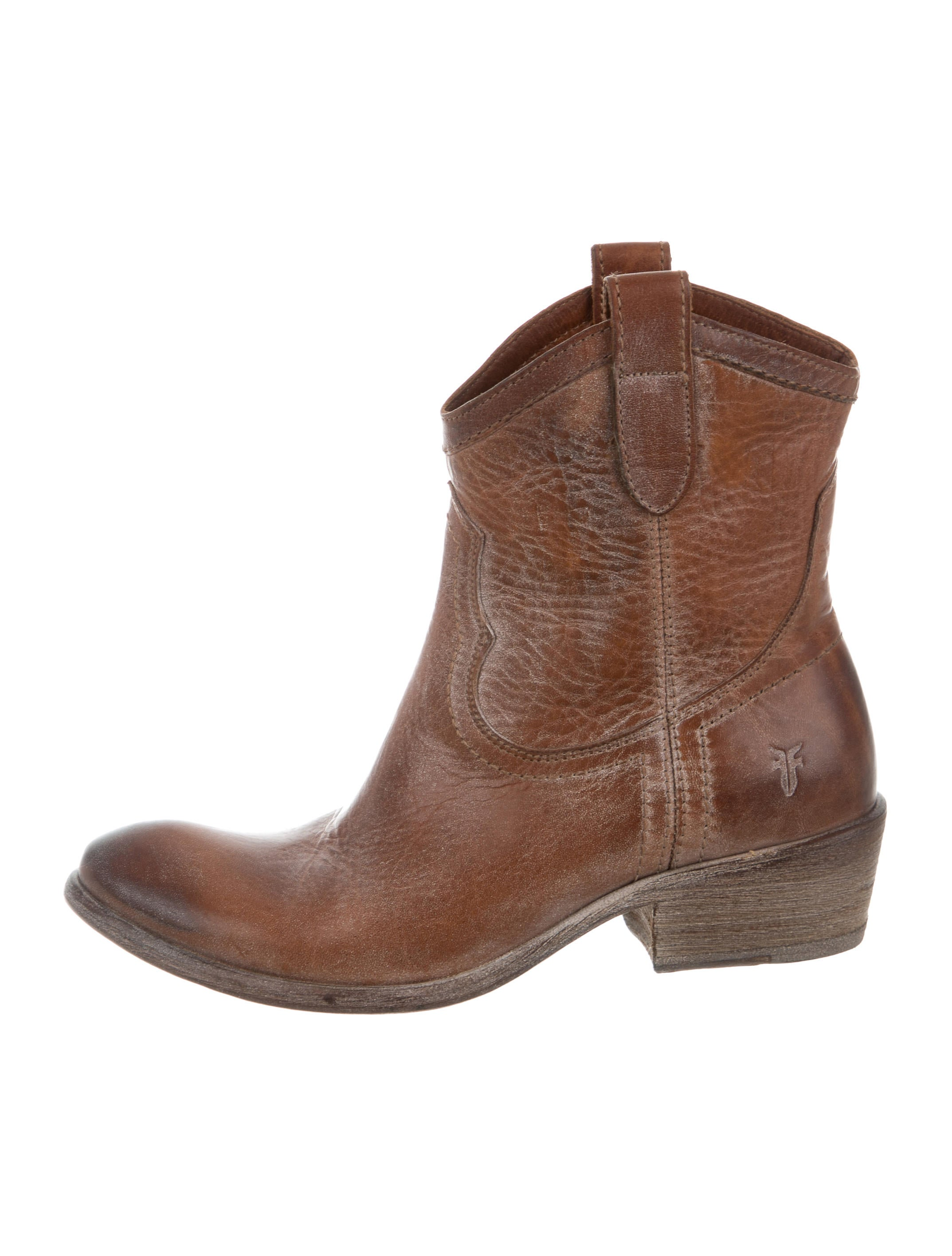frye carson shortie leather ankle boots shoes wf821024