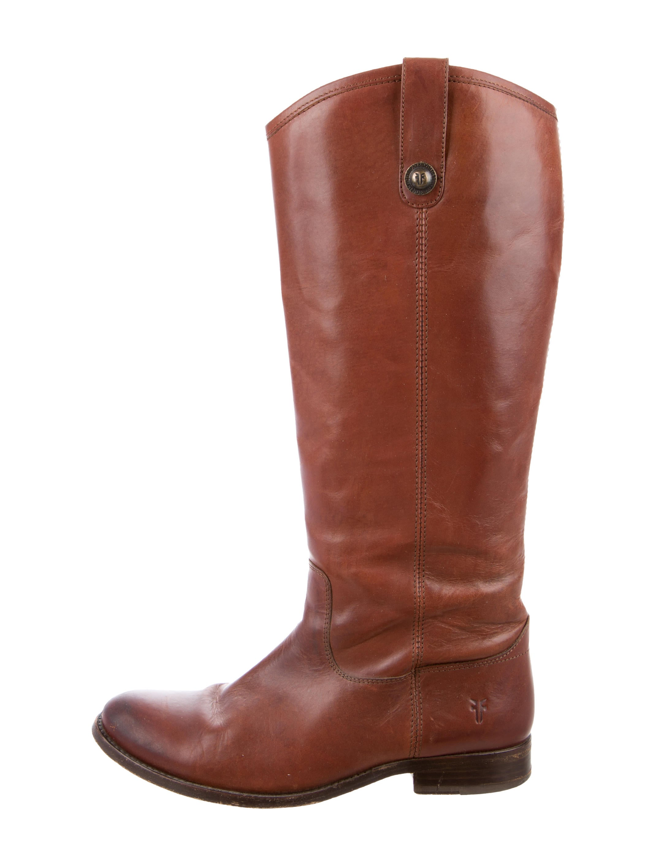 frye leather knee high boots shoes wf821207 the realreal