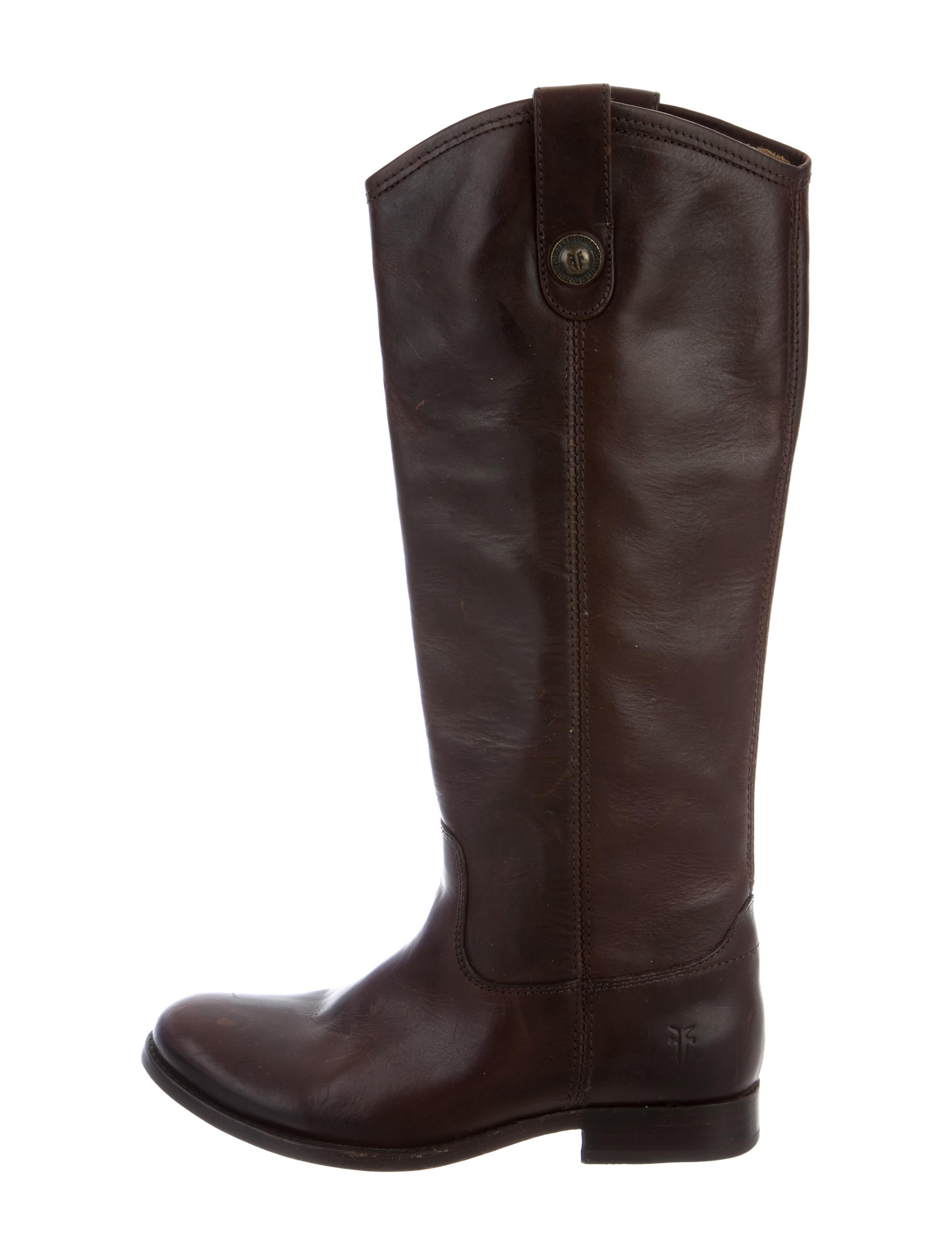 frye leather knee high boots shoes wf821215 the realreal