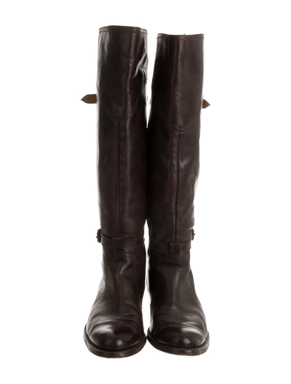 Frye Leather Knee-High Boots Brown - image 3