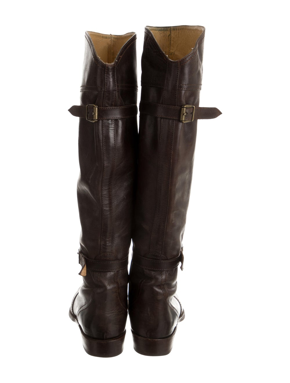 Frye Leather Knee-High Boots Brown - image 4