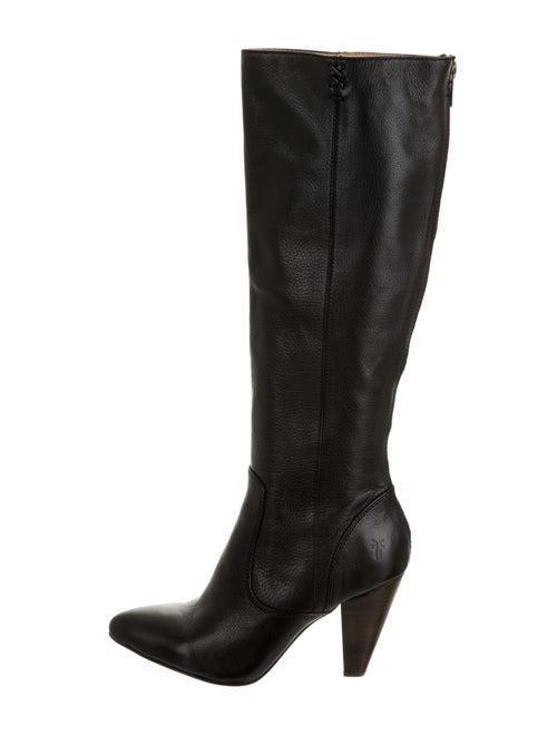 Frye Regina Knee-High Boots Black