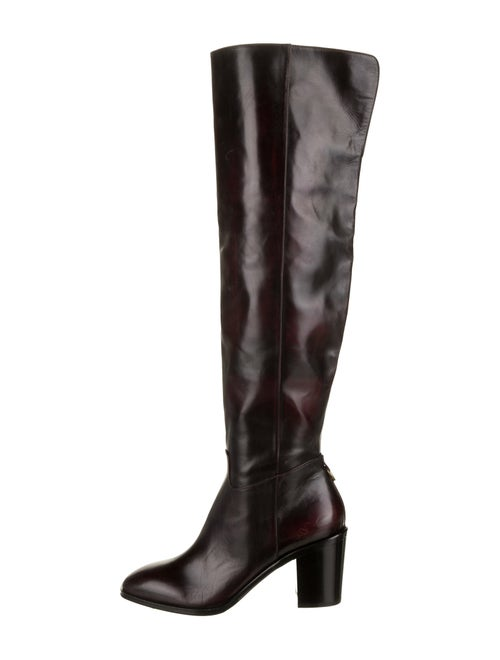 Frye Leather Over-The-Knee Boots Black