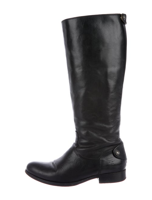 Frye Leather Riding Boots Black