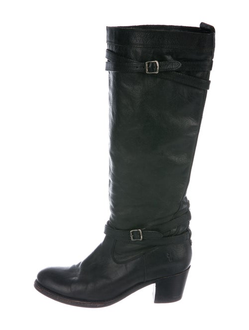 Frye Leather Boots Black