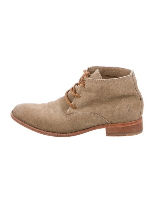 Frye Suede Lace-Up Boots