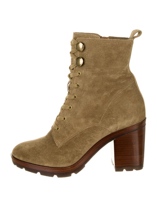 Frye Myra Suede Lace-Up Boots