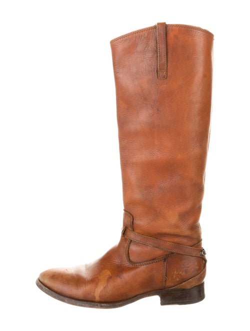 Frye Leather Riding Boots Brown