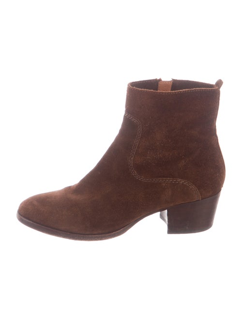 Frye Suede Boots Brown