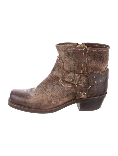 Frye Moto Boots Brown
