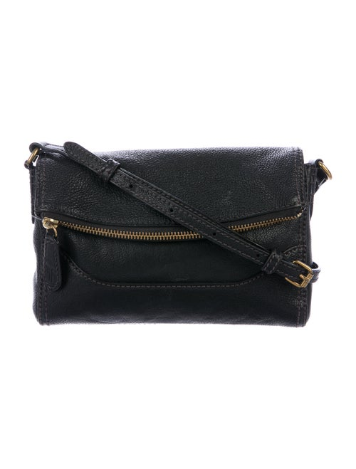 Frye Leather Crossbody Bag Black