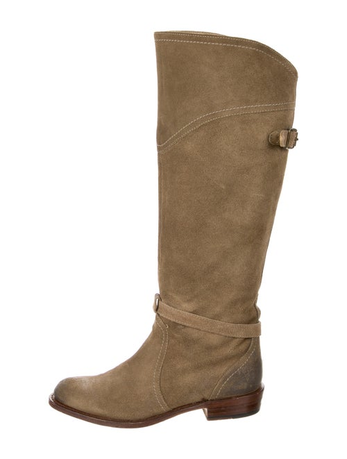 Frye Suede Riding Boots
