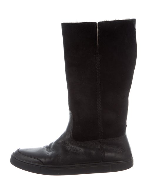 Frye Suede Riding Boots Black
