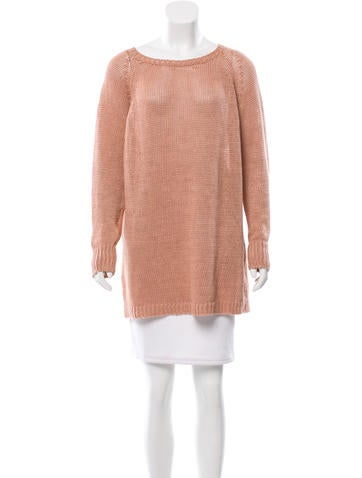 Giada Forte Linen Knit Sweater w/ Tags None