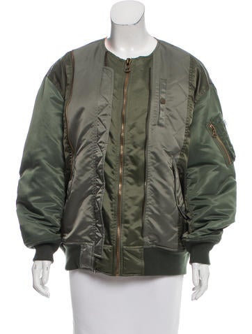 Facetasm Quilted Bomber Jacket None