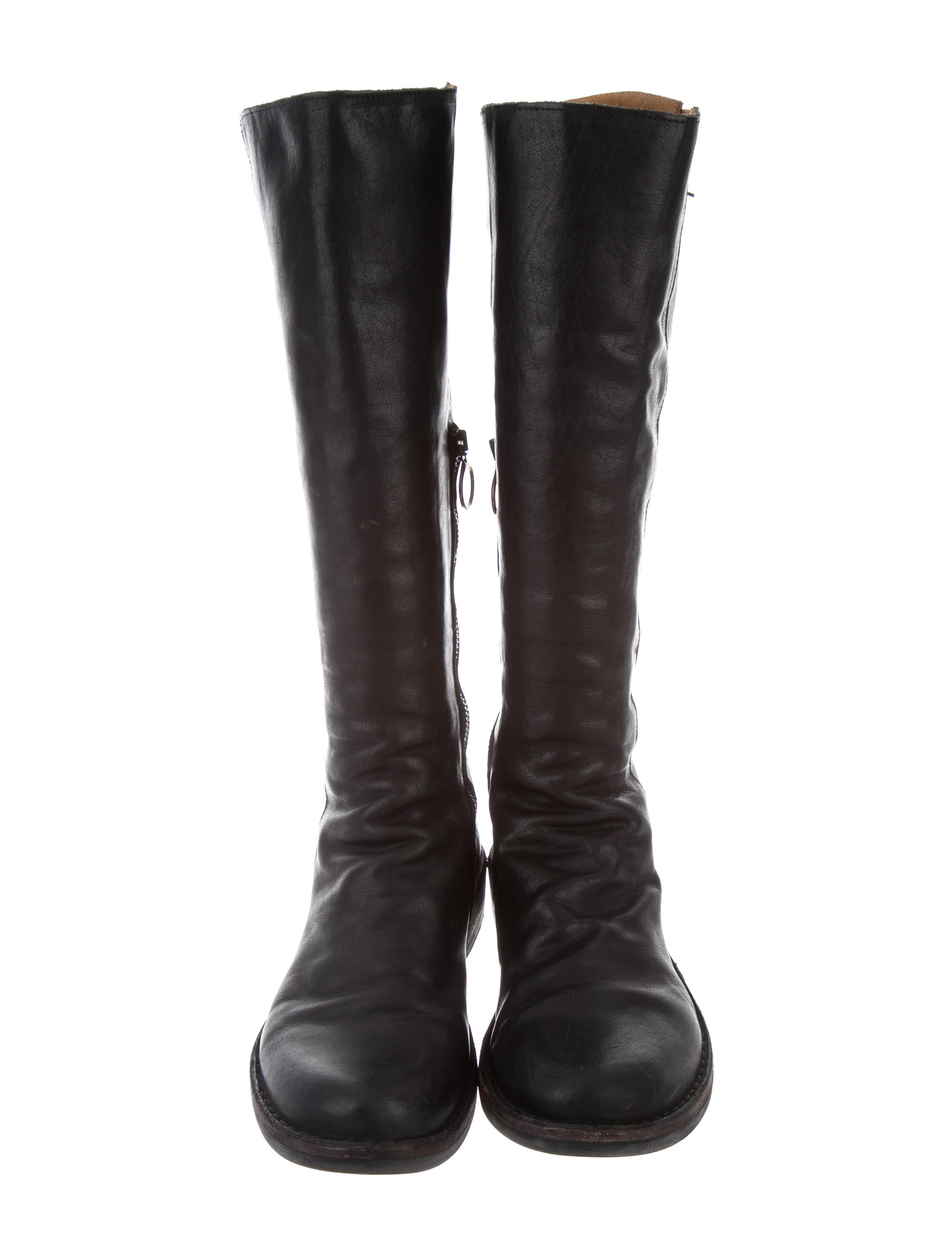Fiorentini Baker Leather Knee High Boots
