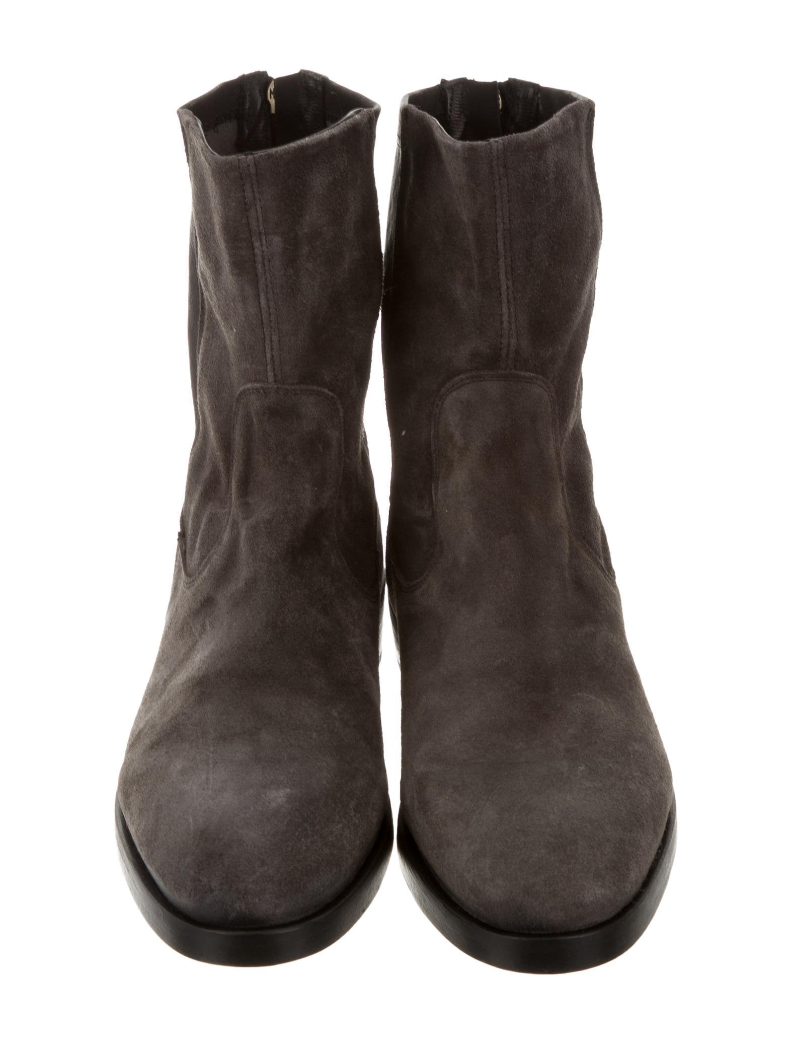 fiorentini baker suede ankle boots shoes wfb20337