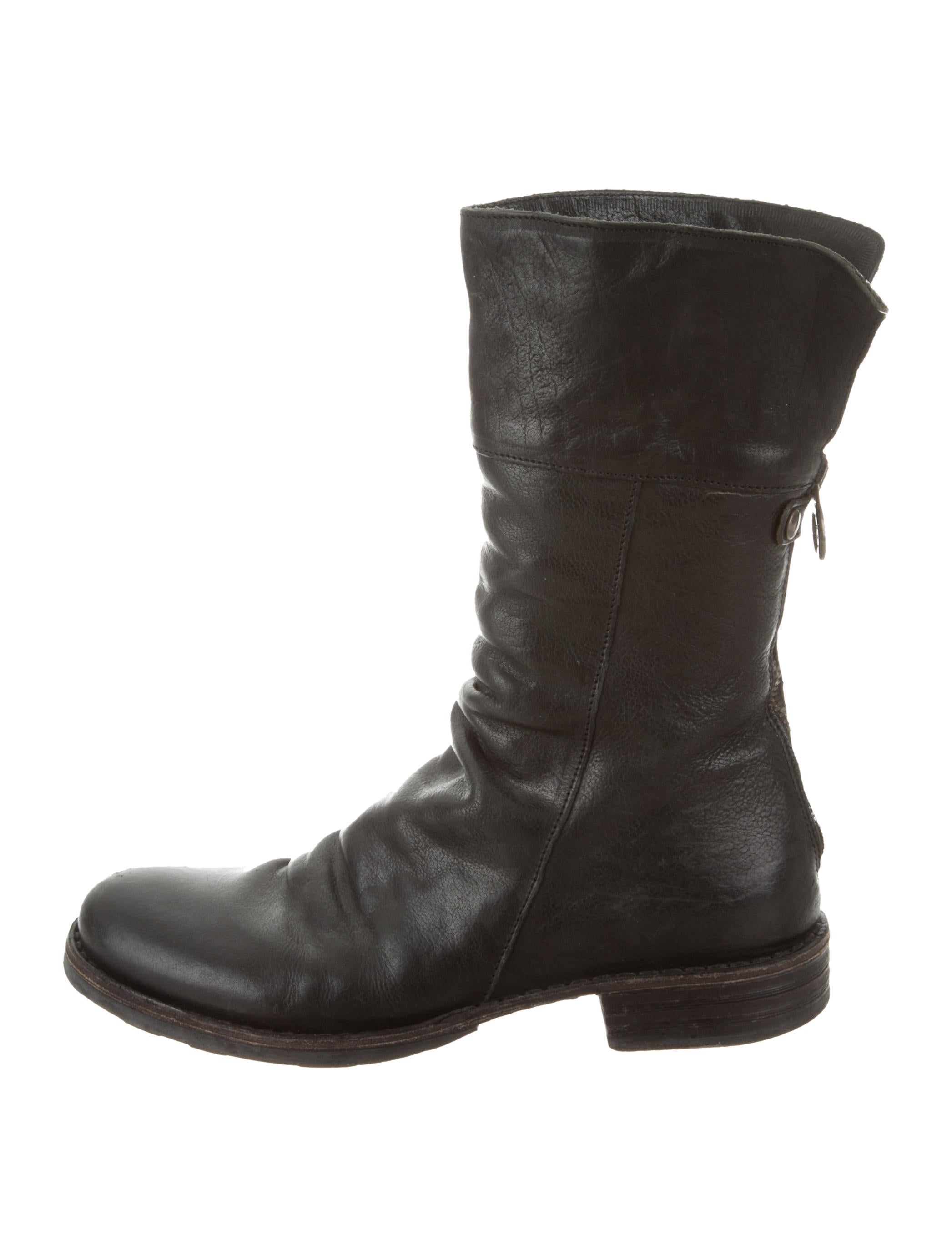 shop cheap online fast delivery sale online Fiorentini + Baker Round-Toe Mid-Calf Boots outlet view free shipping deals 2015 new for sale qeI8XcCCG