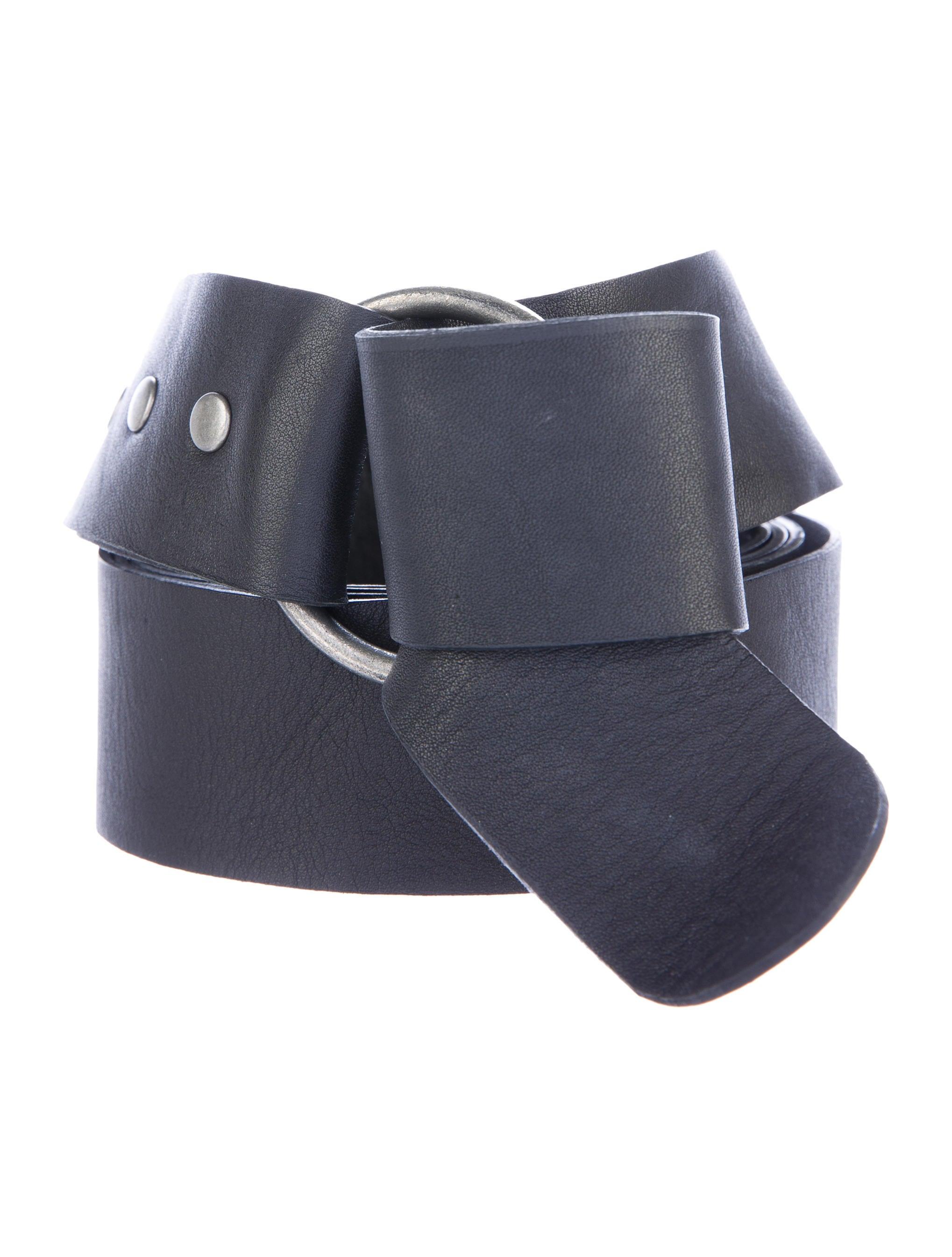 faith connexion leather wrap belt accessories wfc20615