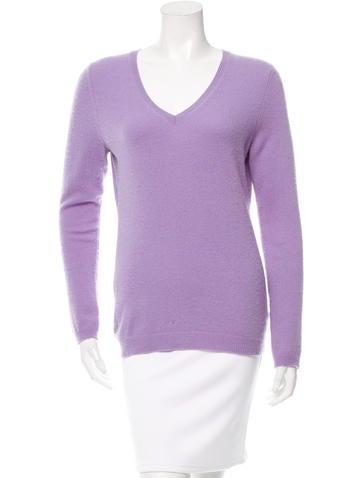 Christopher Fischer V-Neck Cashmere Sweater None