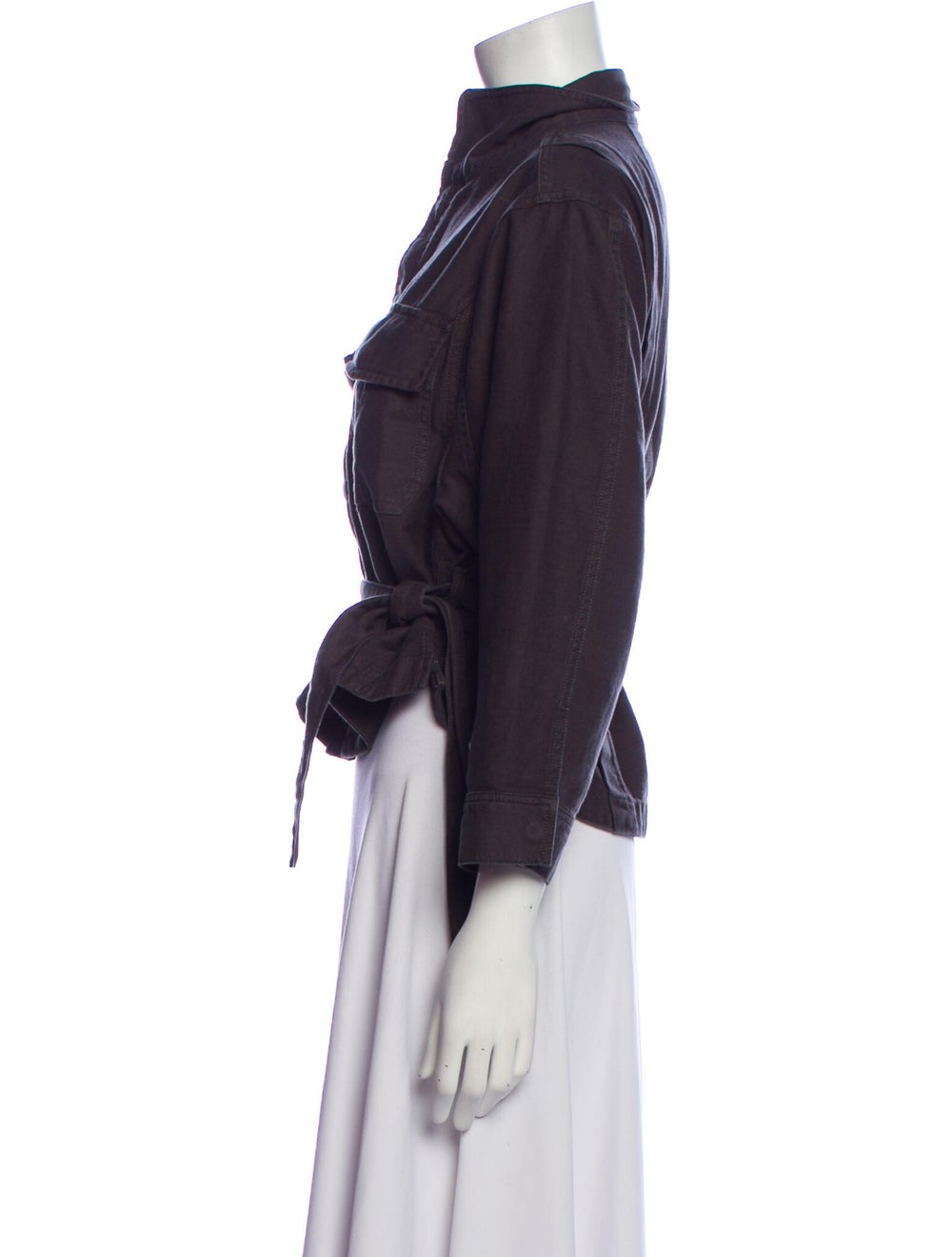 Frame Denim Jacket Denim - image 2