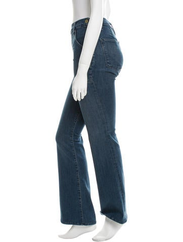Mid-Rise Flare Jeans