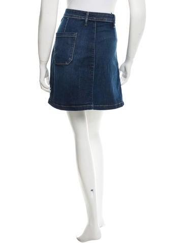 Jean Mini Skirt w/ Tags
