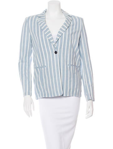 Striped Lightweight Blazer