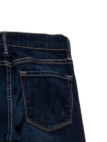Mid- Rise Skinny Jeans