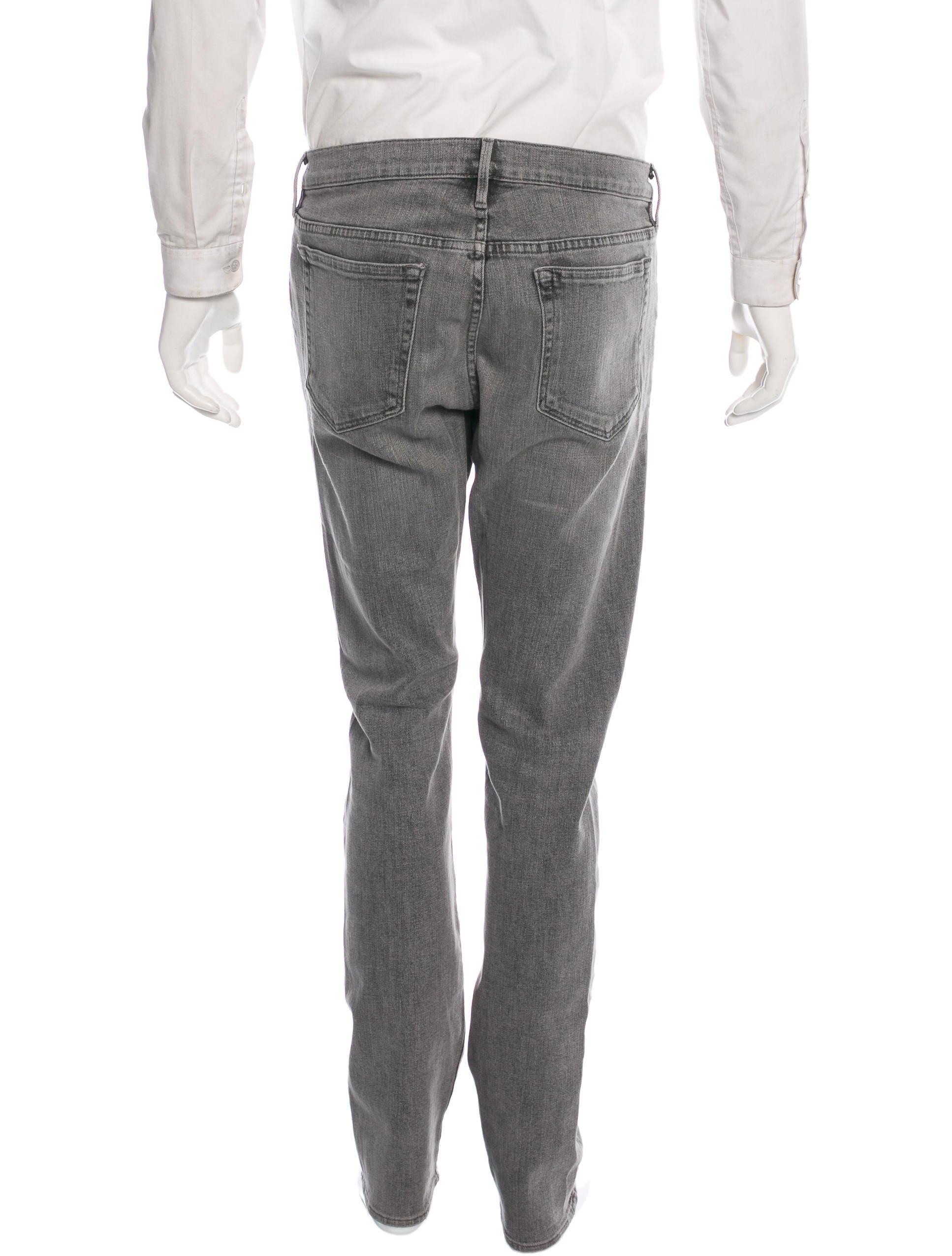 frame denim l 39 homme slim jeans clothing wfd21811 the realreal. Black Bedroom Furniture Sets. Home Design Ideas