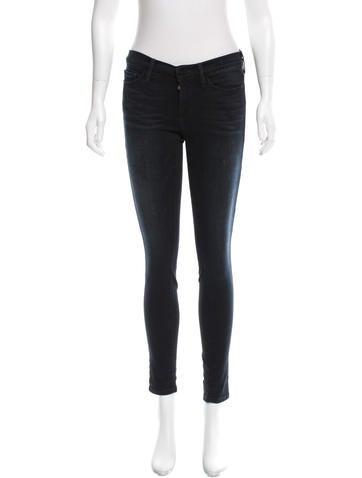 Frame Denim Skinny Mid-Rise Jeans