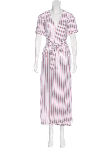 Frame Denim Silk Striped Dress w/ Tags