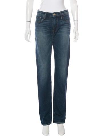 Frame Denim Forever Karlie Straight-Leg Jeans - Jeans - WFD23637 ...