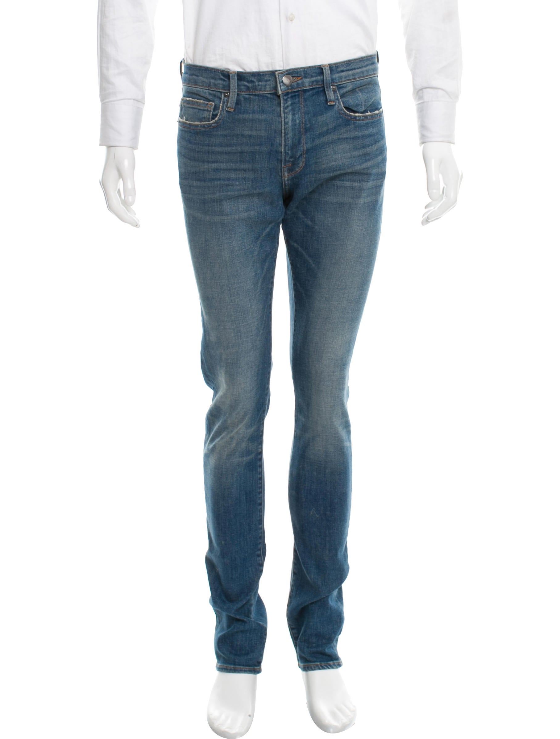 frame denim l 39 homme skinny jeans clothing wfd24435 the realreal. Black Bedroom Furniture Sets. Home Design Ideas
