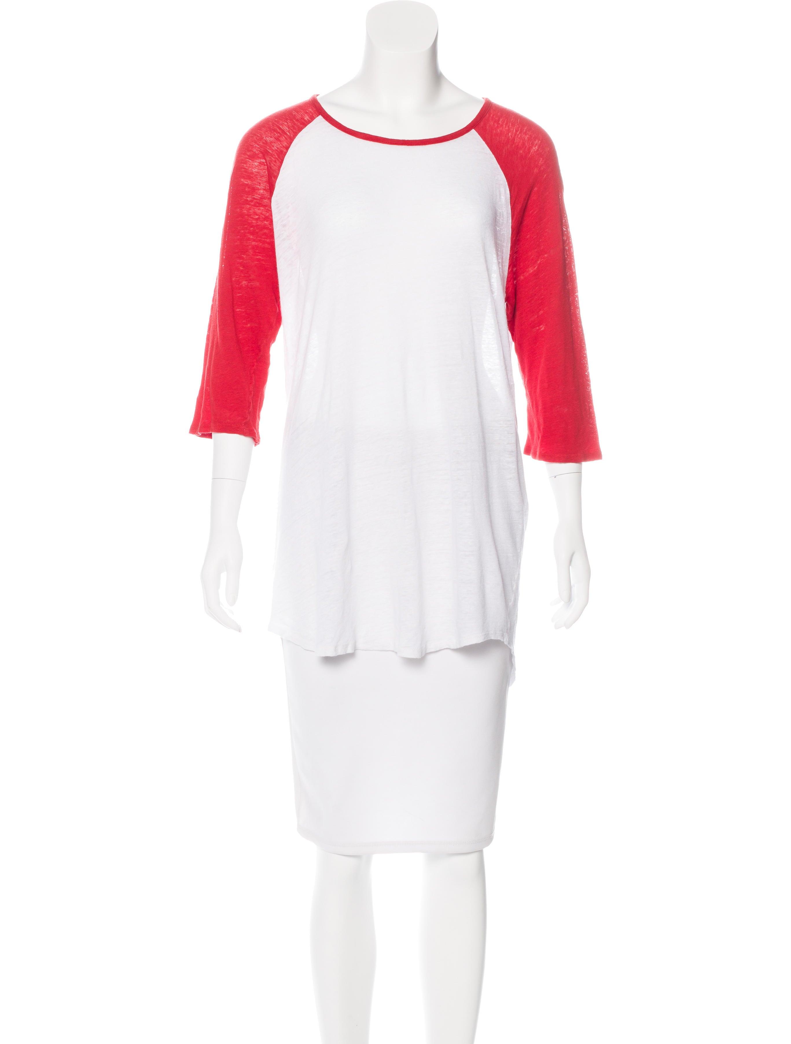 Frame denim slub jersey t shirt clothing wfd24738 for What is a slub shirt