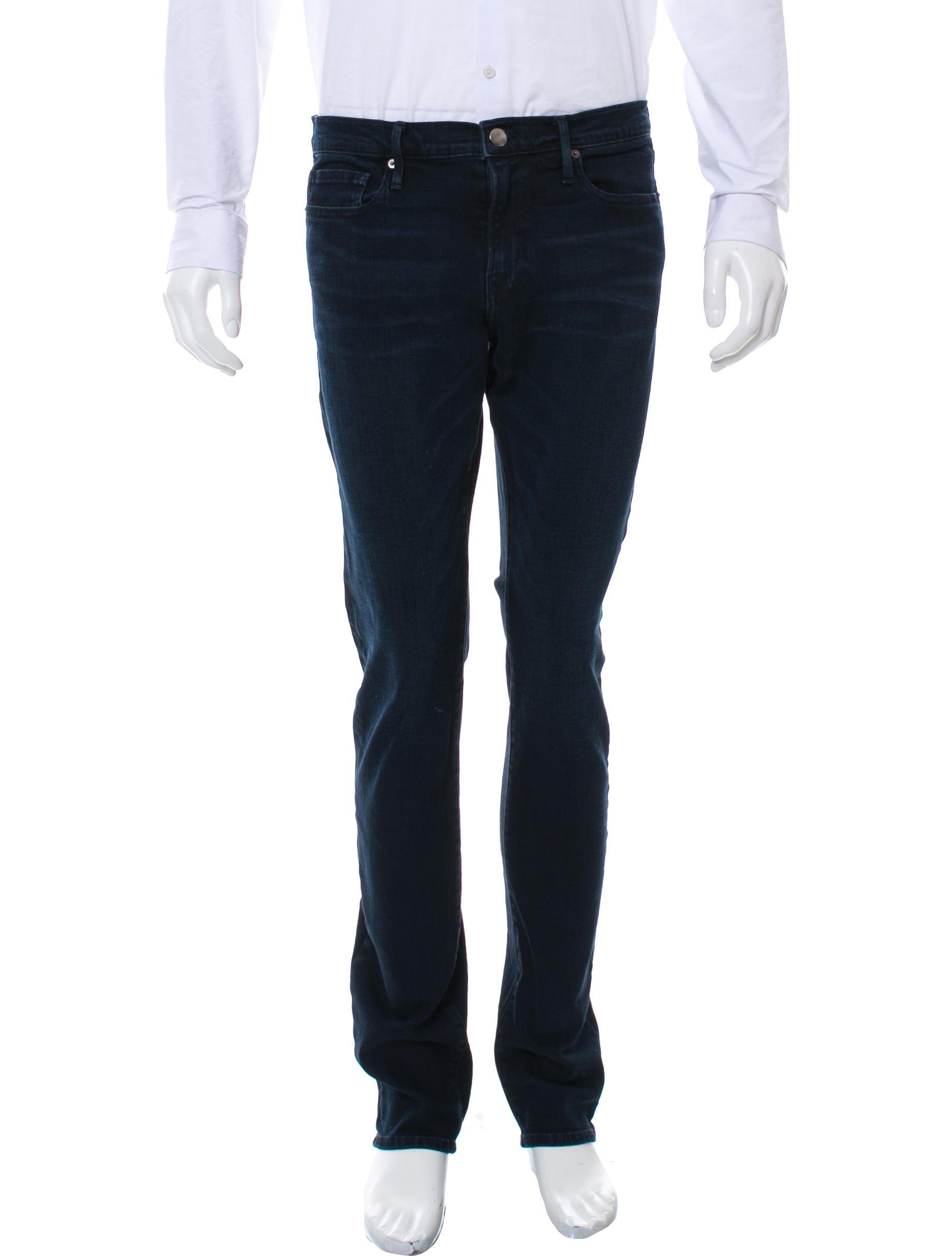 frame denim frame l 39 homme skinny jeans clothing wfd26891 the realreal. Black Bedroom Furniture Sets. Home Design Ideas