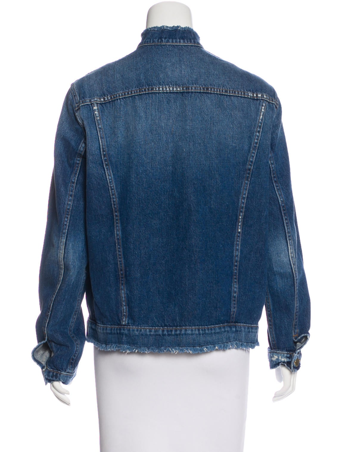 Frame Denim Denim Button-Up Jacket w/ Tags - Clothing - WFD27474 | The RealReal