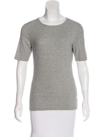 Frame Denim Crew Neck Rub Knit T-Shirt w/ Tags None
